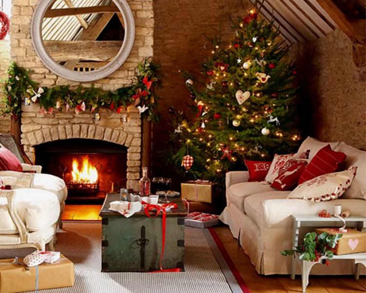Как украсить гостиную к Новому Году: 10 готовых идей по созданию праздничной атмосферы для всей семьи