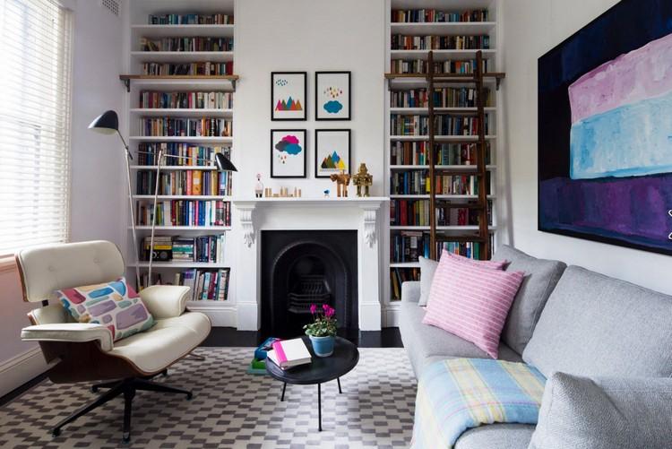 Полки в интерьере гостиной: идеи по обустройству дома своей мечты (52 фото)