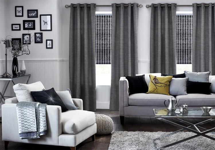 Серый цвет в интерьере гостиной: обзор идей для дизайна (35 фото)