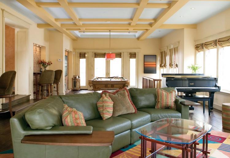 Фото оливковых гостиных в современных интерьерах