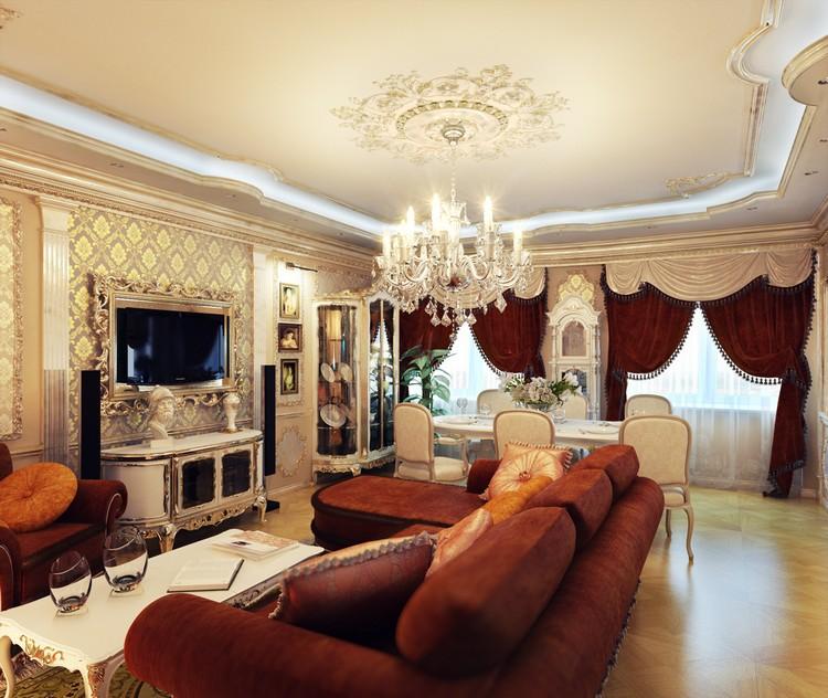 Как правильно вписать телевизор в интерьер гостиной: обзор готовых идей с фото (53 фото)