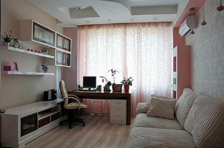 Как уместить все необходимое в маленькой гостиной