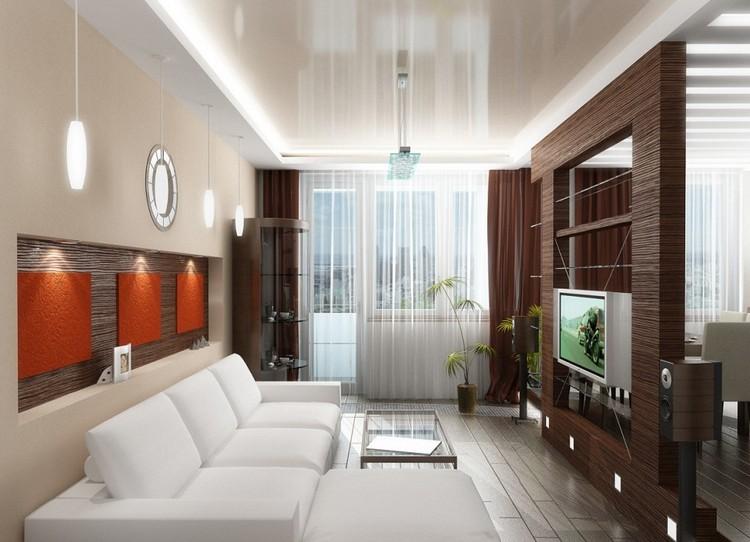 Дизайн гостиной в хрущевке: визуально расширяем и создаем стильный интерьер (42 фото)