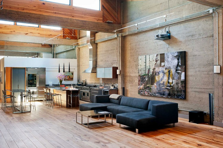 Интерьер гостиной в лофт стиле: промышленный дизайн жилища (30 фото)