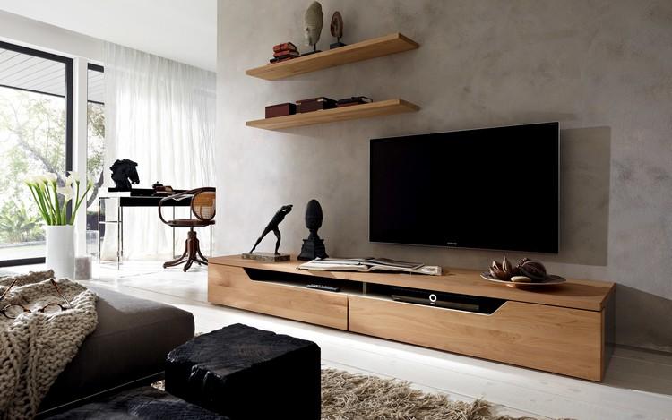 Тумбы под телевизоры в интерьере современных гостиных (28 фото)