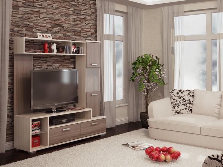 тумбы под телевизоры в интерьере современных гостиных 28 фото