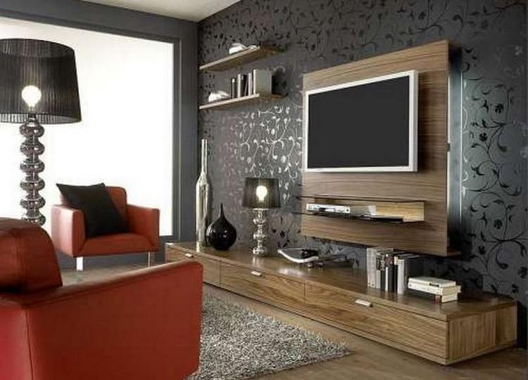 Тумба под ТВ для подвешивания телевизора на стену