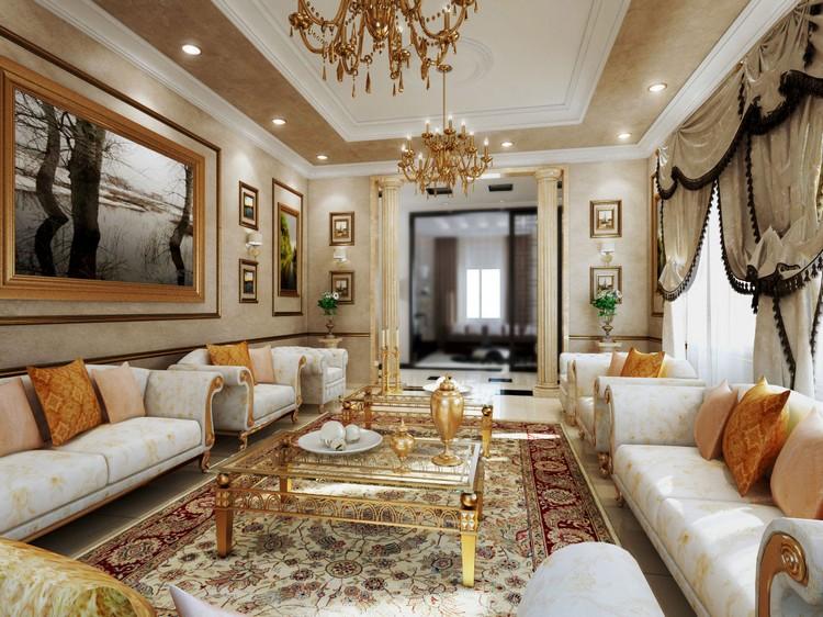Шикарный интерьер гостиной для Овна
