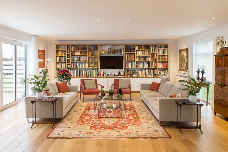 Два дивана в гостиной: 22 фото и советы по расстановке мебели