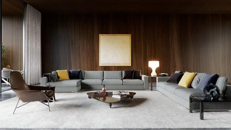 Due divani in foto soggiorno
