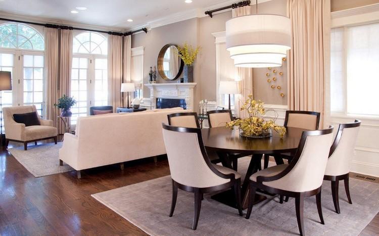 Овальный и круглый стол в гостиной: лучшие идеи оформления комнаты своими руками (50 фото)