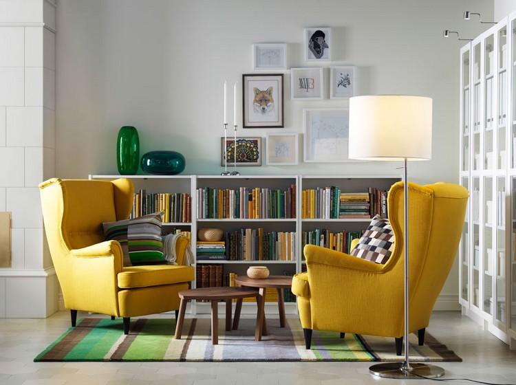 Мебель ИКЕА в интерьере гостиной: 55 фото оформления комнат своими руками