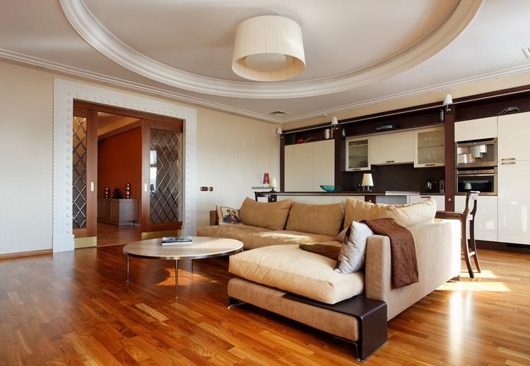 Неоклассика в интерьере гостиной: 55 фото-проектов оформления комнаты