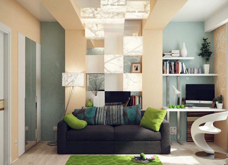 Ниши в гостиной: 53 фото декоративного обустройства углубления в стене
