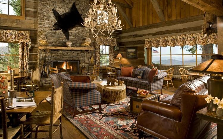 Стиль шале в интерьере гостиной: особенности декора загородного дома и квартиры и 50 фото деревенского дизайна по-альпийски