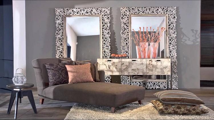 Зеркало в интерьере гостиной: отражение уникального стиля + 50 фото-дизайнов