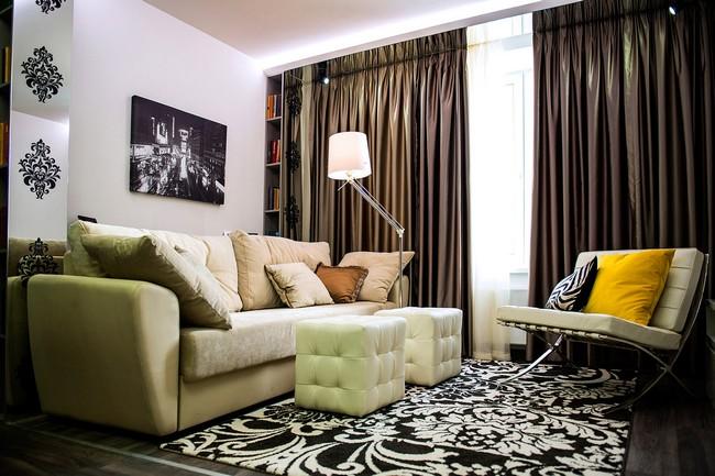 Интерьер гостиной 18 кв.м.: 11 идей современного оформления + правила создания идеального дизайна (50 фото)