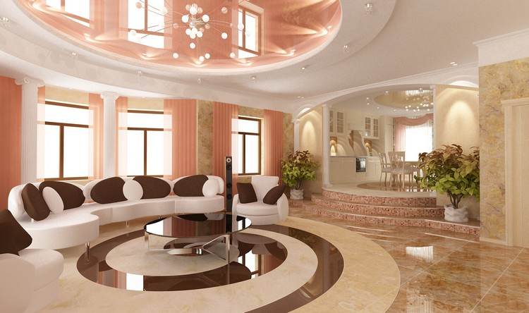 Современные идеи интерьера гостиной: лучшие идеи декора + 68 фото