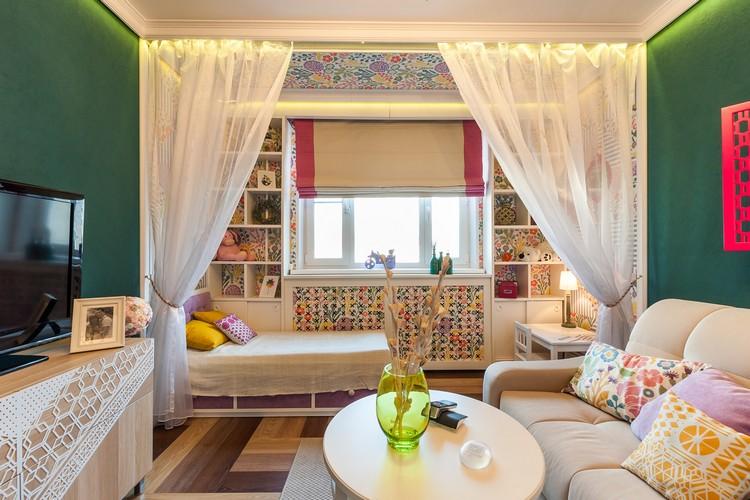 Детская в гостиной: сочетание комфорта и уюта с функциональностью (50 фото)