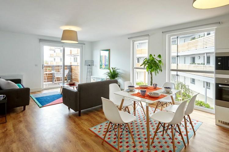 Дизайн столовой-гостиной: современные идеи планирования и оформления интерьера (50 фото)
