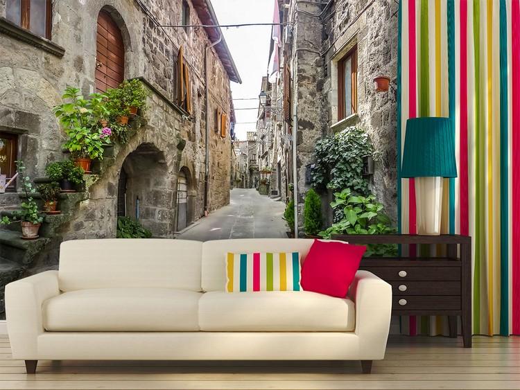 Фотообои в интерьере гостиной: современное декорирование стен (60 фото)