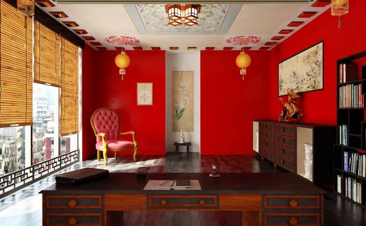 Красный цвет в интерьере гостиной: цвет для богатых и смелых людей или необдуманная ошибка в декоре? (45 фото)