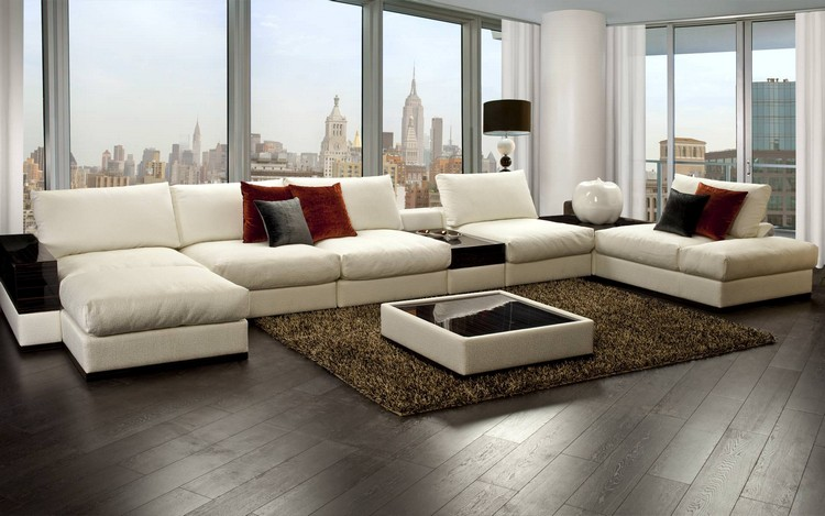 Угловая мебель для гостиной: современные идеи обустройства комнаты с учетом экономии свободного пространства (35 фото)