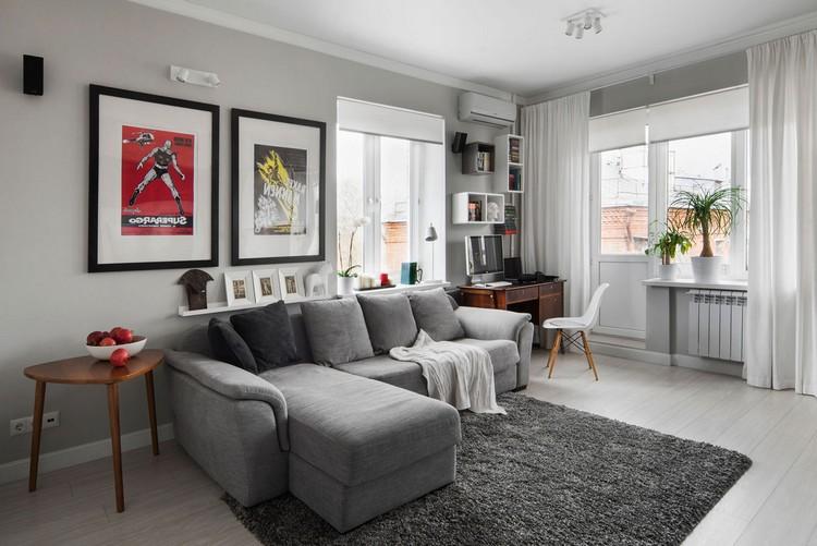 угловой диван в интерьере гостиной современные идеи по созданию