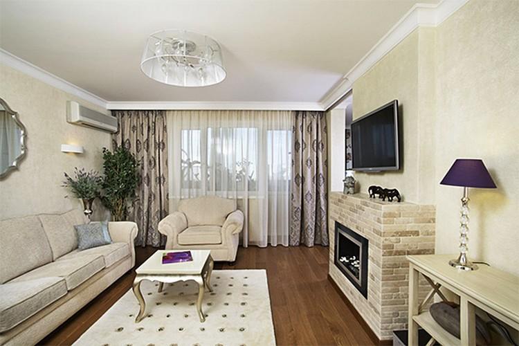Дизайн гостиной площадью 16 квадратных метров: делаем своими руками особенный интерьер (43 фото)