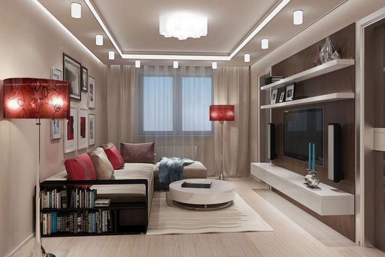 Дизайн гостиной площадью 20 квадратных метров: советы и рекомендации по оформлению (40 фото)