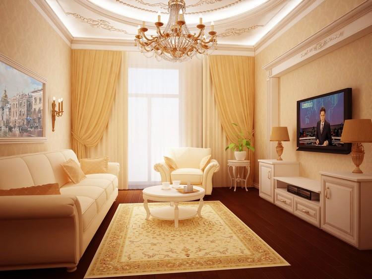 Узкая гостиная: современный интерьер и идеи для расстановки мебели на небольшом пространстве (40 фото)