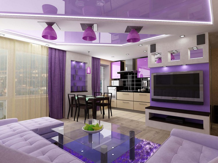 Гостиная в квартире-студии: современные идеи оформления главной комнаты в доме (50 фото)