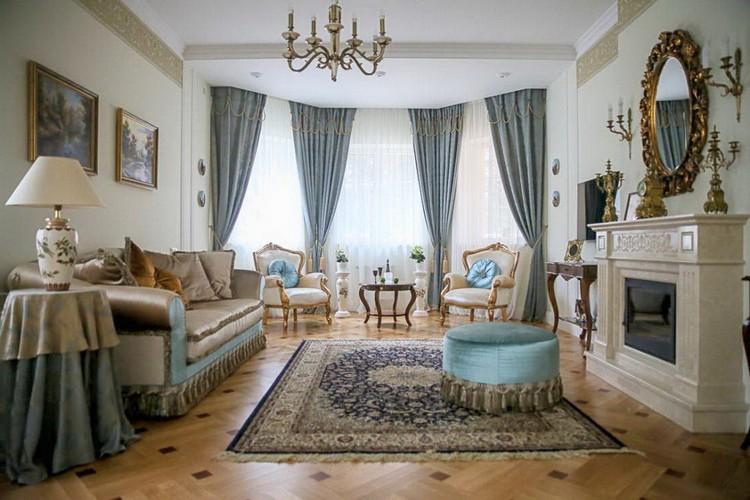 Эркеры в гостиной: как правильно и красиво оформить архитектурное сооружение (35 фото)