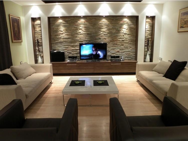 Освещение в гостиной: рекомендации по свету в дизайне центральной комнаты (50 фото)