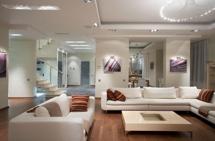 Планировка гостиной — идеи и рекомендации по создаю уютного интерьера зала (35 фото)