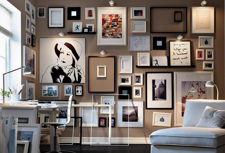 Как украсить стену в гостиной: рекомендации и идеи (50 фото)