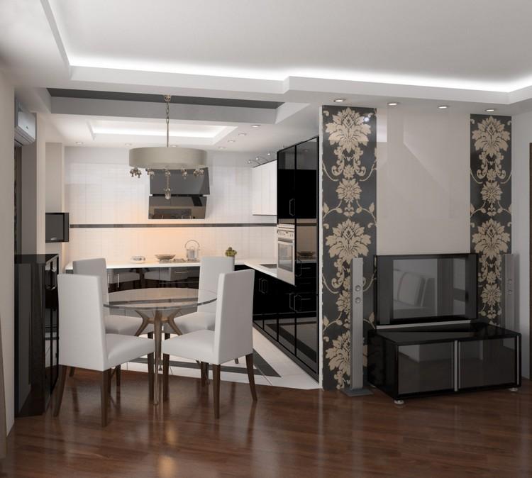 Зонирование в гостиной: современные идеи по оформлению функционального и комфортного интерьера (70 фото)