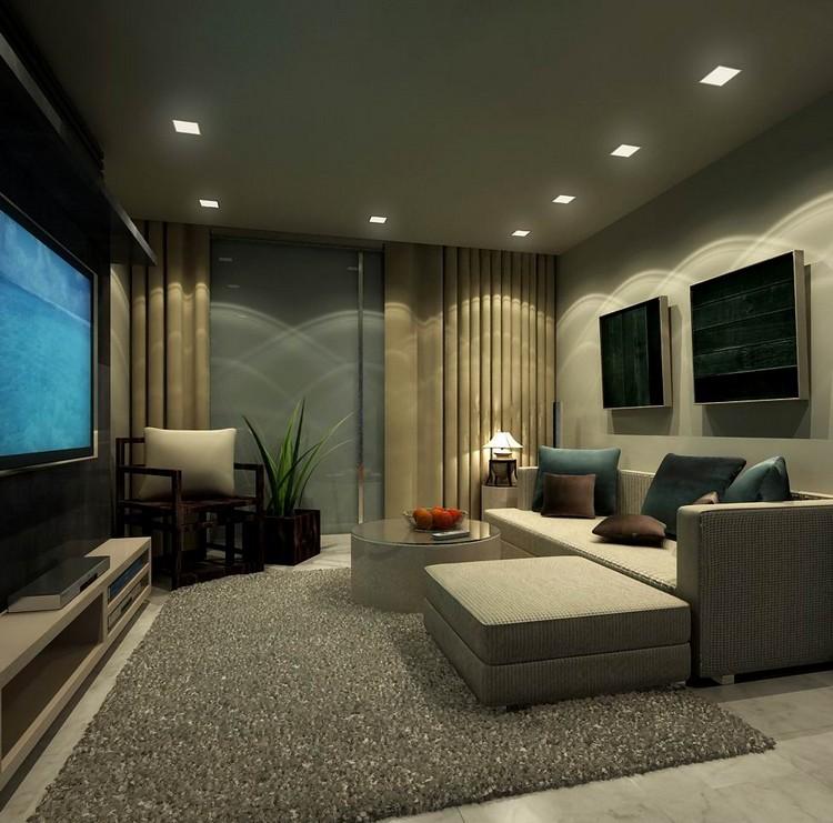 Дизайн гостиной размером 30 квадратных метров: планировка и интерьер (50 фото)