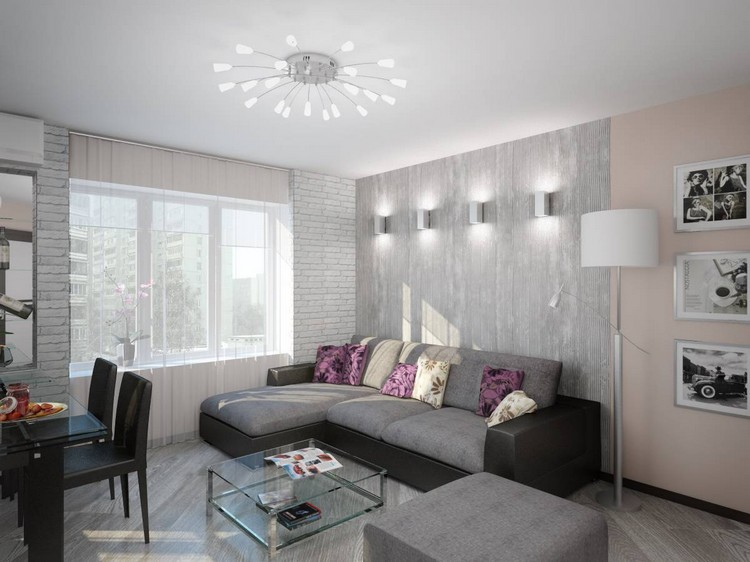 Дизайн гостиной размером 17 квадратных метров: особенности оформления интерьера (40 фото)
