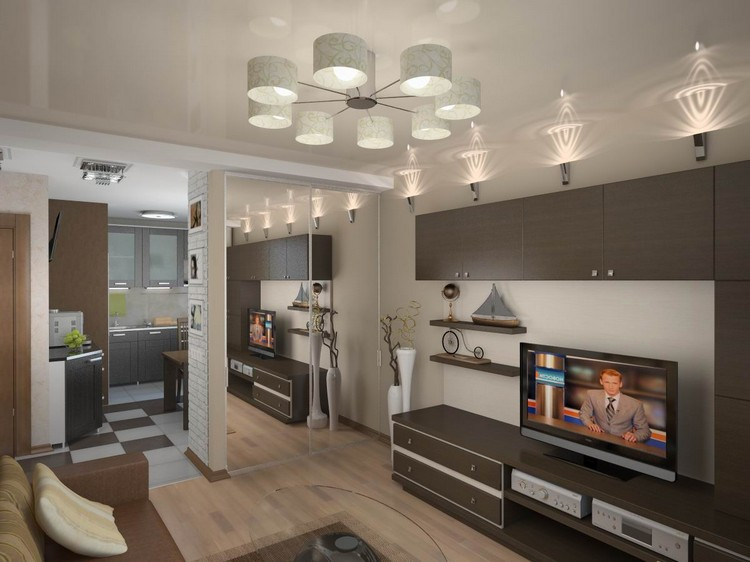 Дизайн гостиной в панельном доме: советы по оформлению помещения (45 фото)