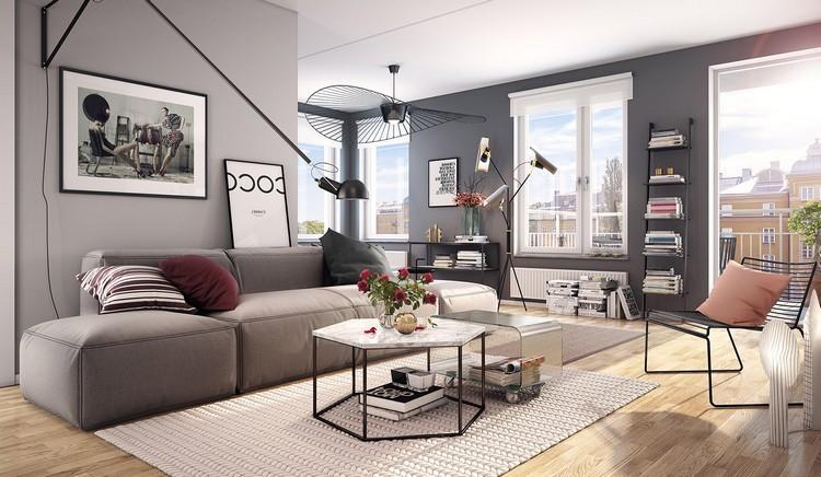 Идеи для интерьера большой гостиной: особенности оформления (50 фото)