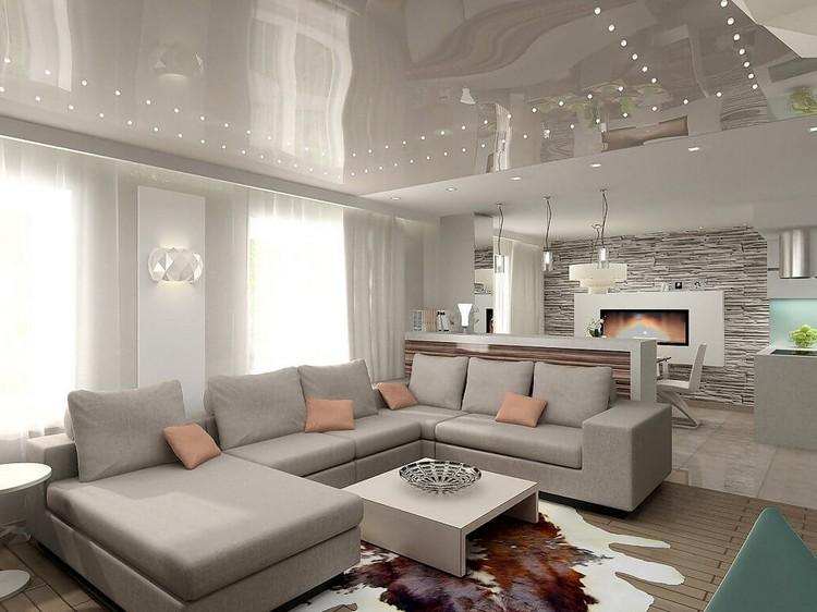 Расстановка мебели в гостиной: особенности планирования свободного места в комнате (45 фото)