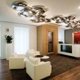 Светильники для гостиной: обзор осветительных, стильных и модных приборов (35 фото)