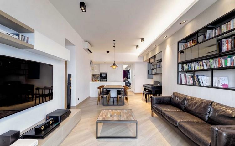 Прямоугольная гостиная: идеи планировки и расстановки мебели (40 фото)
