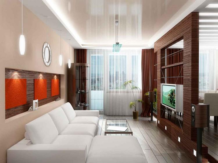 Минимум мебели в гостиной: идеи уютной и воздушной планировки (35 фото)