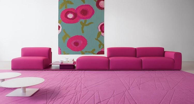 Бархатный диван в гостиную: модный и роскошный интерьерный предмет (48 фото)