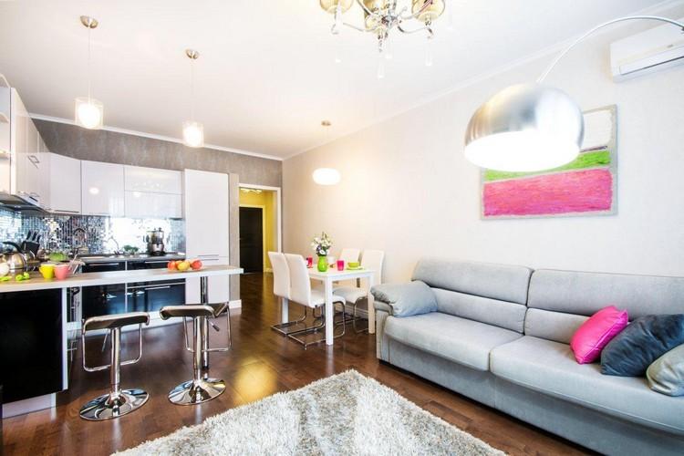 Интерьер гостиной для молодой семьи: как при минимуме затрат сделать ремонт (35 фото)