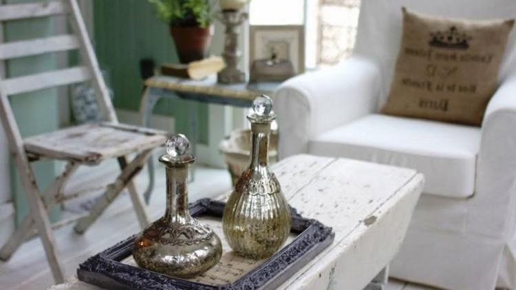 Гостиная в стиле Шебби Шик: романтичное и шикарное оформление комнаты (40 фото)