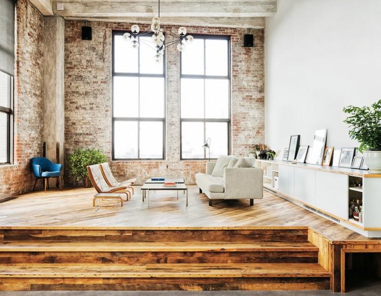 Подиум в интерьере гостиной: функциональность и стиль (36 фото)