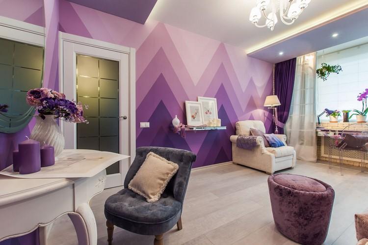 Розовый цвет в интерьере гостиной: удачные оттенки и сочетания (35 фото)